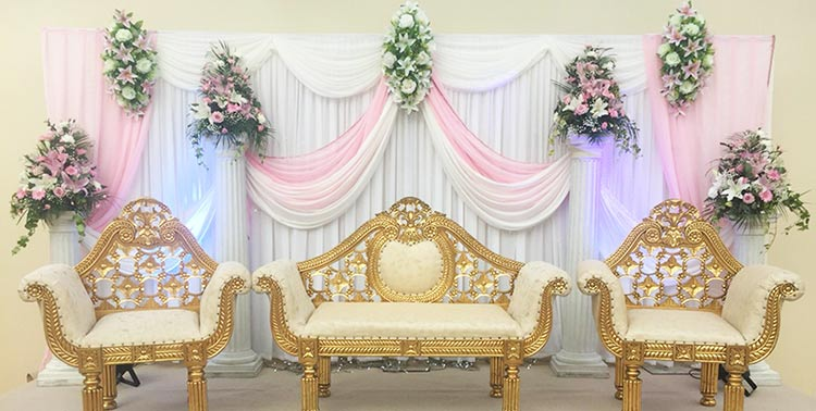 Asian Wedding Stages Asian Wedding Services Mehndi Stage Hire