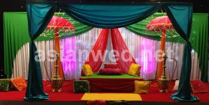 Asian Wedding Stages Cardiff