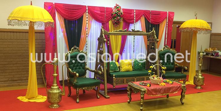 Mehndi Stage Hire Mehndi Stage Decoration Mehndi Decor