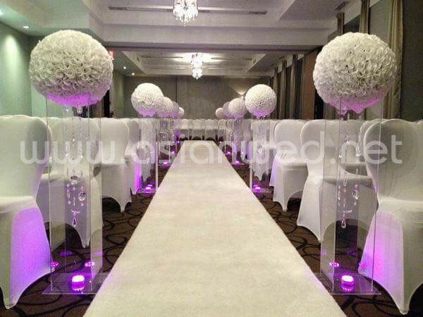 LED Walkway Pillars