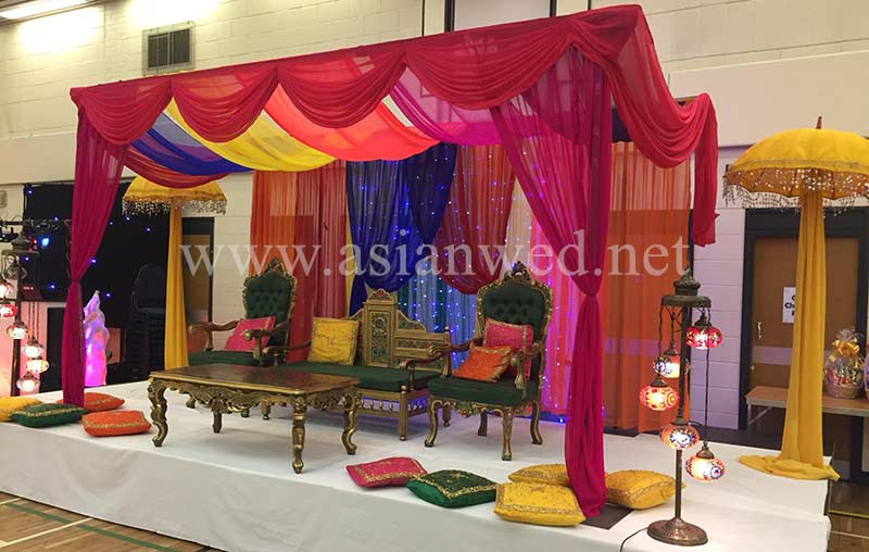 Mehndi Stage Hire East London