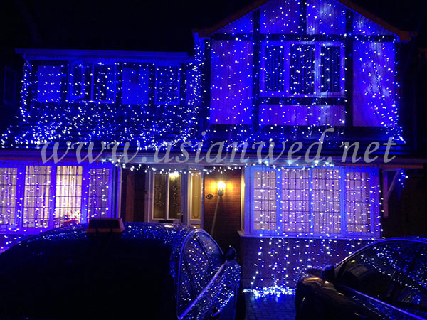 Wedding house lights birmingham