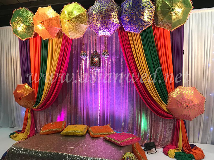 Mehndi Stage Hire , Mehndi Stage Decoration , Mehndi Decor